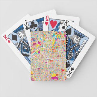 Los Angeles, California | Colorful Map Bicycle Playing Cards