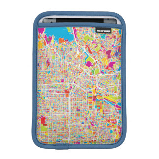 Los Angeles, California | Colorful Map iPad Mini Sleeve