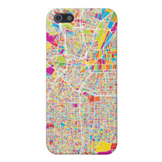 Los Angeles, California | Colorful Map iPhone 5 Cover