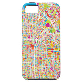 Los Angeles, California | Colorful Map iPhone 5 Covers