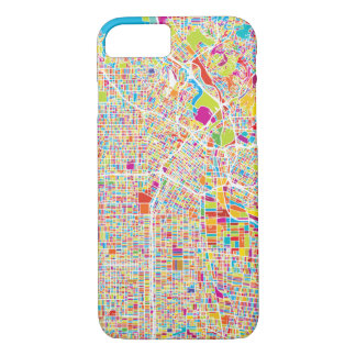 Los Angeles, California | Colorful Map iPhone 8/7 Case