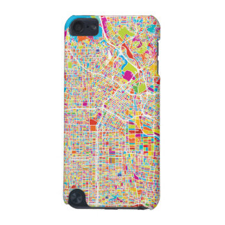 Los Angeles, California | Colorful Map iPod Touch (5th Generation) Cover