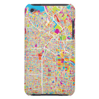 Los Angeles, California | Colorful Map iPod Touch Case
