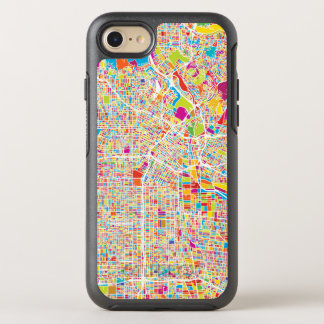 Los Angeles, California | Colorful Map OtterBox Symmetry iPhone 8/7 Case