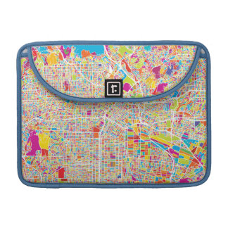 Los Angeles, California | Colorful Map Sleeve For MacBook Pro