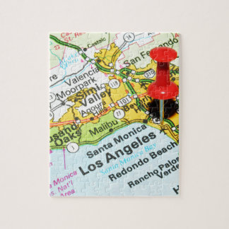 Los Angeles, California Jigsaw Puzzle