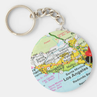 Los Angeles, California Keychain