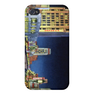 Los Angeles California Miracle Mile Wilshire Boule Covers For iPhone 4