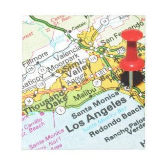 Los Angeles, California Notepad