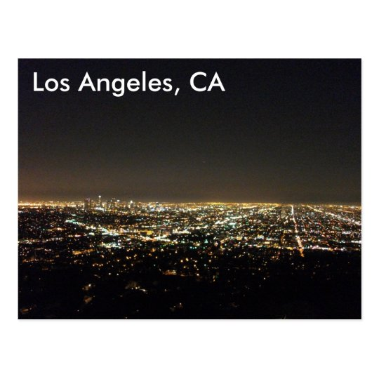 Los Angeles California Postcard