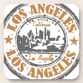 Los Angeles California Pride Seal Coasters