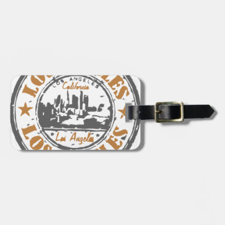 Los Angeles California Pride Seal Luggage Tag