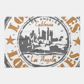 Los Angeles California Pride Seal Towels