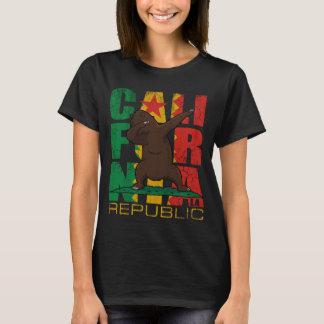Los Angeles California Republic Dabbing Bear T-Shirt
