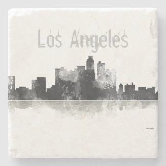 LOS ANGELES, CALIFORNIA SKYLINE STONE COASTER
