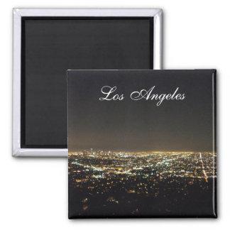 Los Angeles California Square Magnet