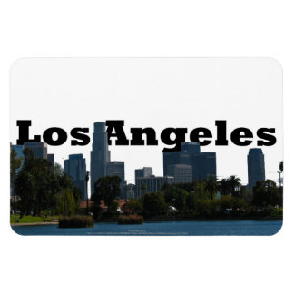 Los Angeles California with Los Angeles in the Sky Magnet