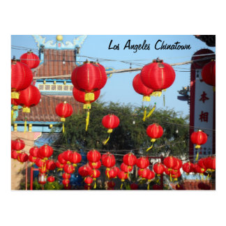 Los Angeles Chinatown Postcard