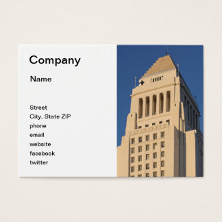 Los Angeles City Hall Business Card