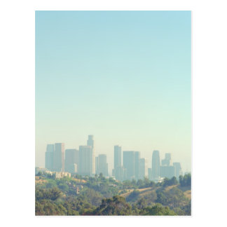 Los Angeles Cityscape Postcard