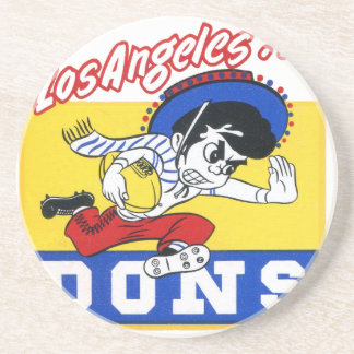 Los Angeles Dons (AAFC) Drink Coaster