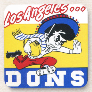 Los Angeles Dons (AAFC) Drink Coasters