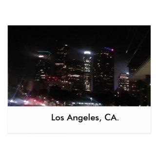 Los Angeles Downtown buildings Postcard