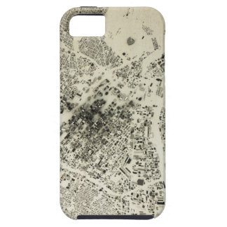 Los Angeles Downtown Streets and Buildings Vintage iPhone 5 Covers