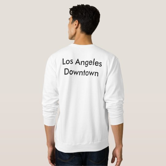 Los Angeles Downtown Sweat Long Shirt
