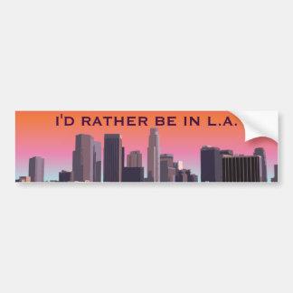 Los Angeles du centre - image personnalisable Autocollant De Voiture