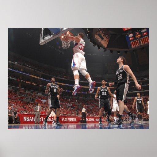 LOS ANGELES - FEBRUARY 17: Josh Smith #5 Print