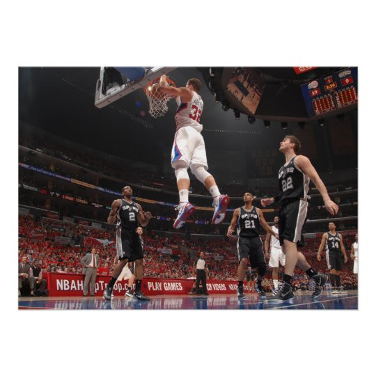 LOS ANGELES - FEBRUARY 17: Josh Smith #5 Print
