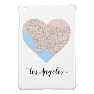 Los Angeles Heart Map Cover For The iPad Mini