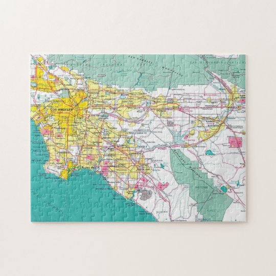 Los Angeles Jigsaw Puzzle