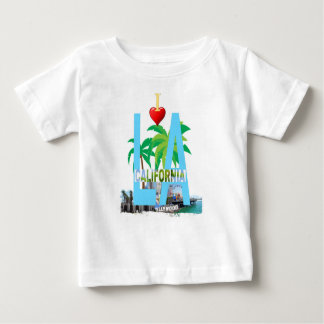los angeles  l a california city usa america baby T-Shirt