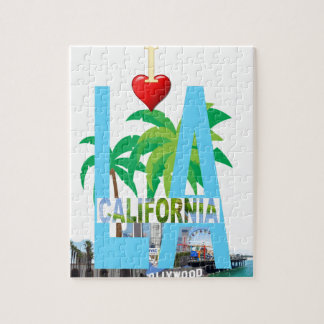 los angeles  l a california city usa america puzzles