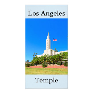 Los Angeles LDS Temple Card