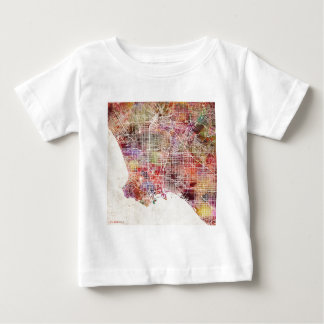 Los Angeles map Baby T-Shirt