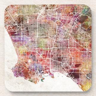 Los Angeles map Coasters