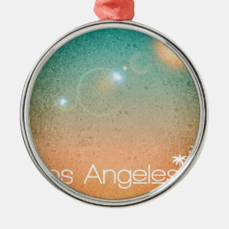 Los Angeles Metal Ornament