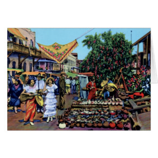 Los Angeles Olvera Street Card
