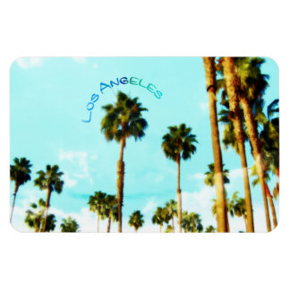 Los Angeles Palm Trees Magnet
