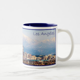 Los Angeles Panorama Coffee Mug