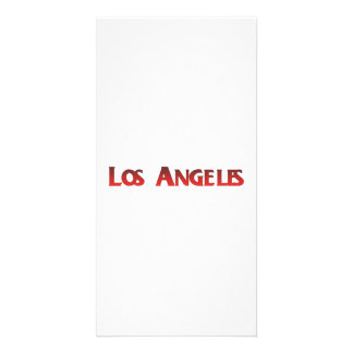 Los Angeles Customized Photo Card