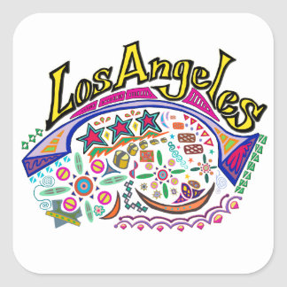 """Los Angeles Playful"" Stickers"