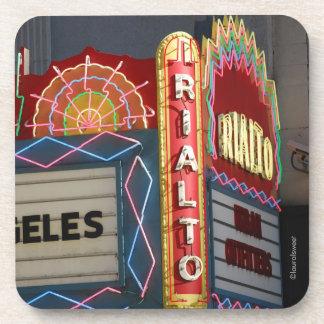 Los Angeles Rialto Theater Marquee Photo Coaster