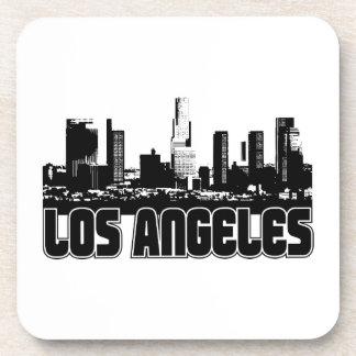Los Angeles Skyline Beverage Coaster