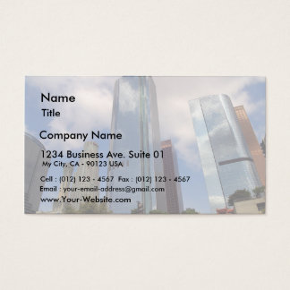 Los Angeles Skyline Business Card
