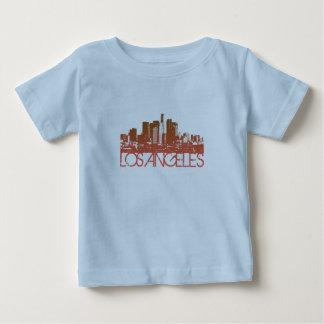 Los Angeles Skyline Design Baby T-Shirt