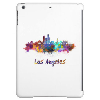 Los Angeles skyline in watercolor iPad Air Case